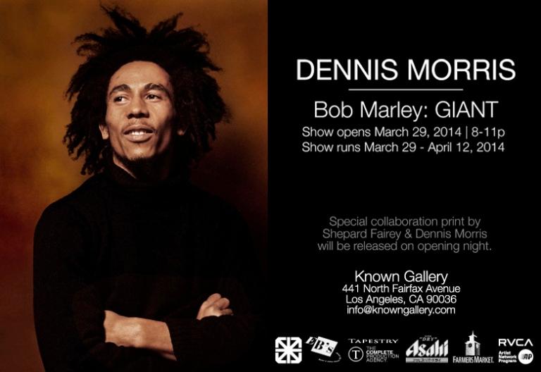 Dennis Morris - Bob Marley: GIANT Exhibit