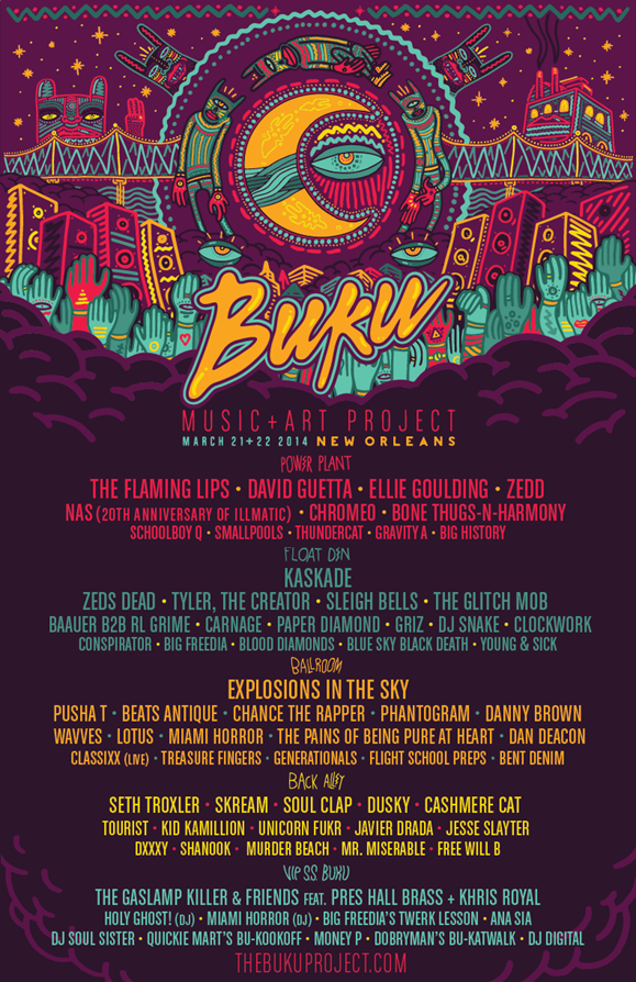 This Weekend: BUKU Music & Art Project in New Orleans